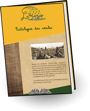 aperçu du catalogue